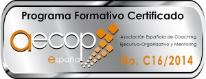 Logotipo aecop - cursos coaching